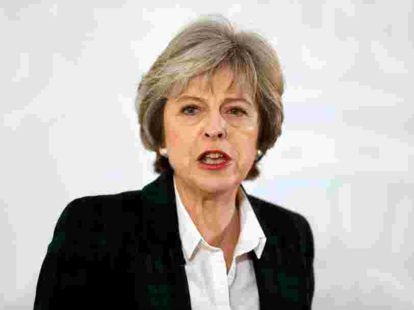 Theresa May annonce qu'elle a choisi un 'hard Brexit'