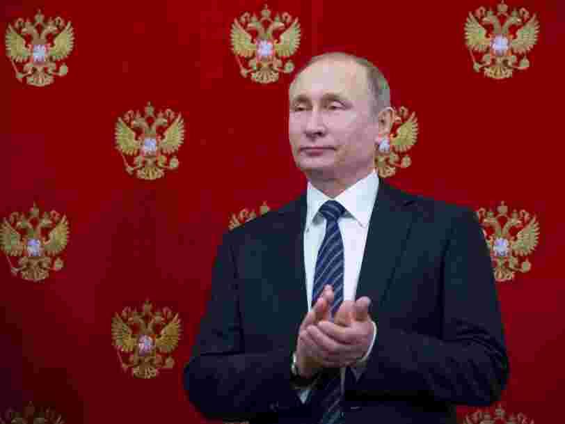 La présidence russe dit que les accusations de l'équipe d'Emmanuel Macron contre Moscou sont 'absurdes'