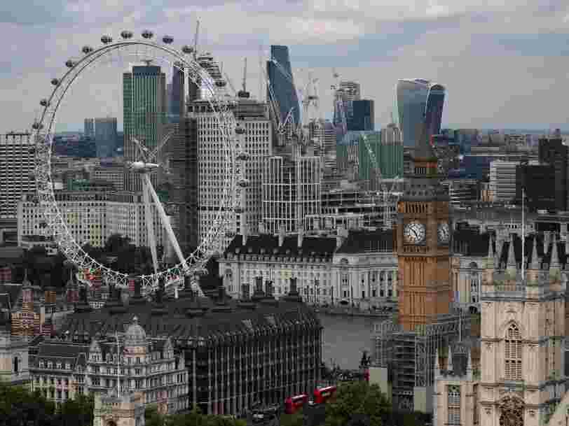 Londres aurait déjà perdu près de 900 Mds€ d'activités financières en raison du Brexit — mais Paris n'est que la 4e ville à en profiter