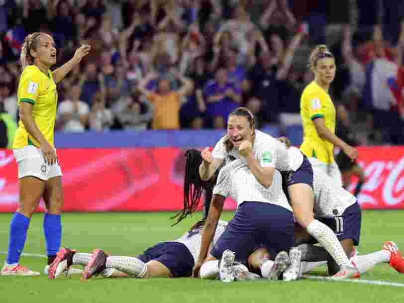 Coupe du monde 2019 : les paris sur internet s'emballent mais c'est incomparable avec les Bleus en 2018