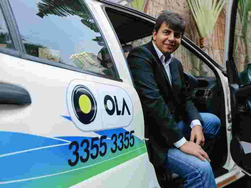 Le géant indien du VTC Ola va se lancer au Royaume-Uni pour défier Uber — et ils ont un investisseur important en commun