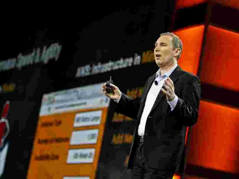 Amazon continue d'écraser Microsoft et Google dans la guerre du cloud — voici le bilan du dernier round