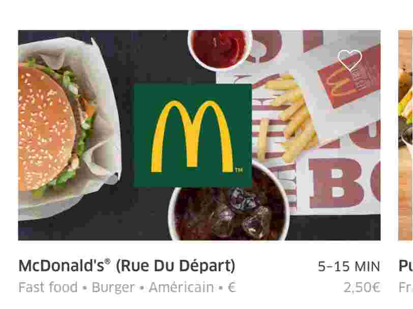 On a trouvé les 3 McDonald's qui livrent à domicile dans Paris