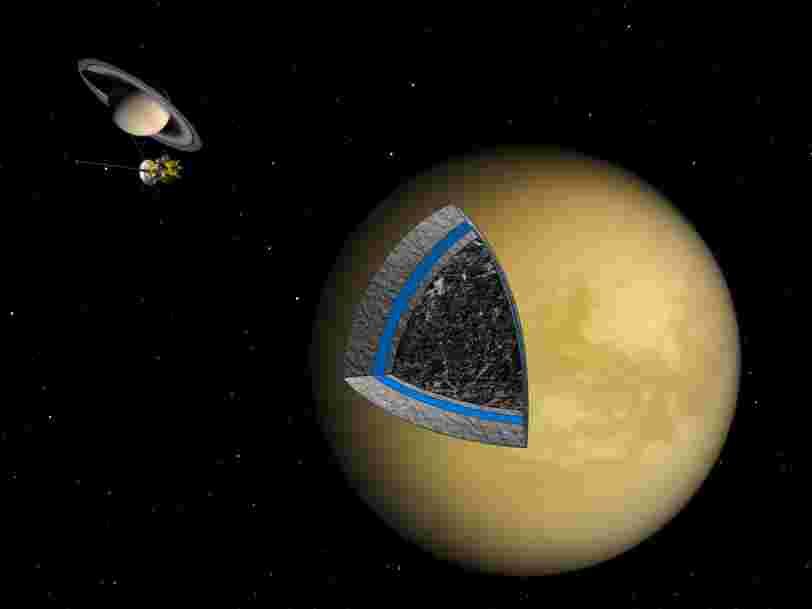 La sonde Cassini part à la rencontre de la plus grande lune de Saturne une dernière fois pour explorer le mystère des 'îles magiques'