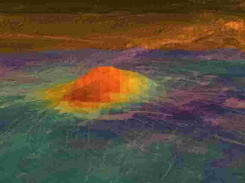 Vénus aurait bien une activité volcanique comme la Terre