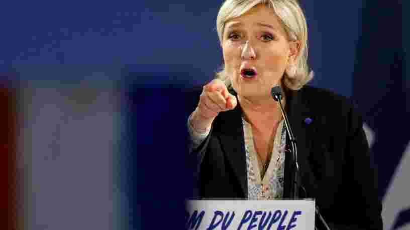 Le QG de campagne de Marine Le Pen a été visé par une tentative d'incendie 'probablement d'origine criminelle'