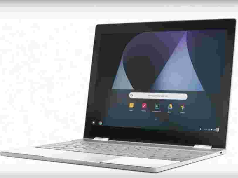 Google se paie Apple et Microsoft dans la nouvelle publicité pour son Chromebook