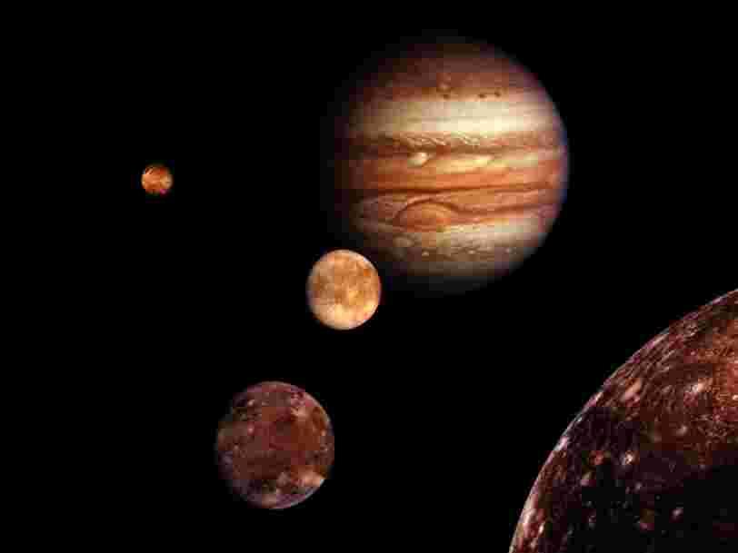 Vous pouvez suggérer des noms pour 5 des lunes de Jupiter