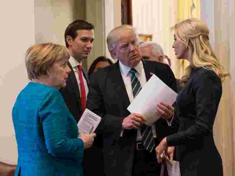 Les Américains et les Allemands posent le 'même problème' à l'économie mondiale, dit Christine Lagarde