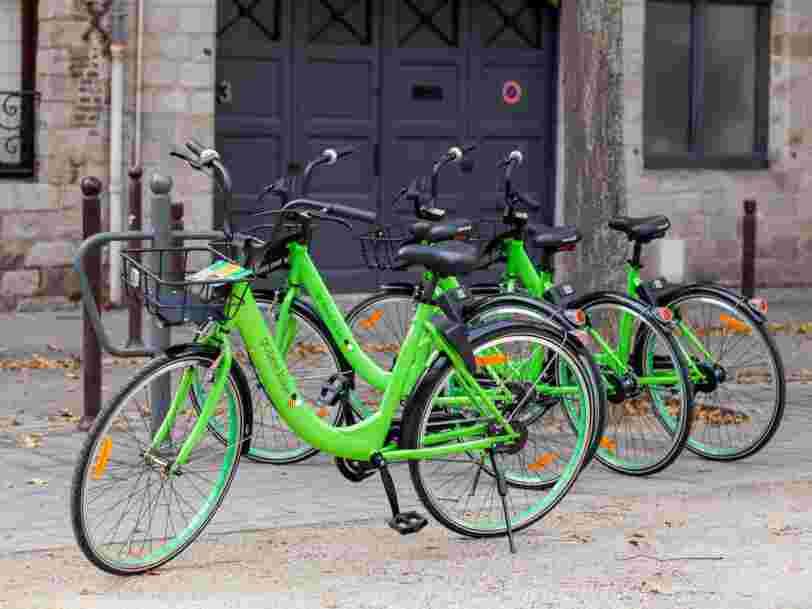 Voici comment le vélo vert fluo de Gobee.bike va tenter de prendre position à Paris avant l'arrivée du nouveau Vélib