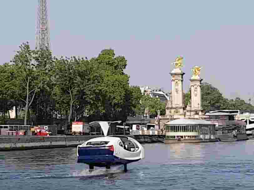 INFO BUSINESS INSIDER FRANCE : Les Sea Bubbles vendues à des investisseurs étrangers
