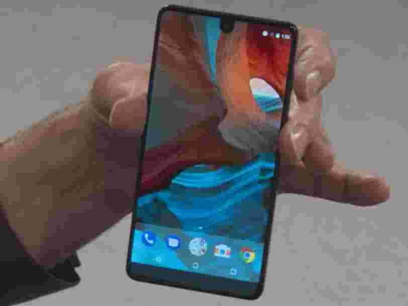 Le cofondateur d'Android est poursuivi pour vol de savoir-faire technologique avec son nouveau smartphone Essential PH-1