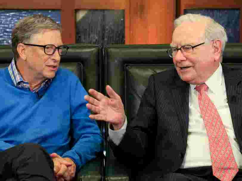 Bill Gates raconte que Warren Buffet a été un véritable soutien durant la période la plus difficile de sa carrière