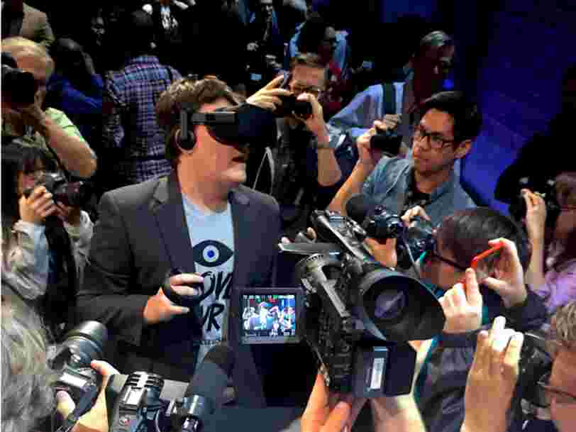 Pendant son audition au Sénat, Mark Zuckerberg a été interrogé sur son illustre ex-employé: Palmer Luckey
