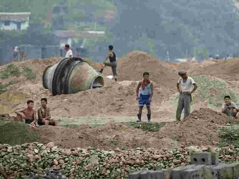 Voici ce que la Corée du Nord importe et exporte auprès du reste du monde
