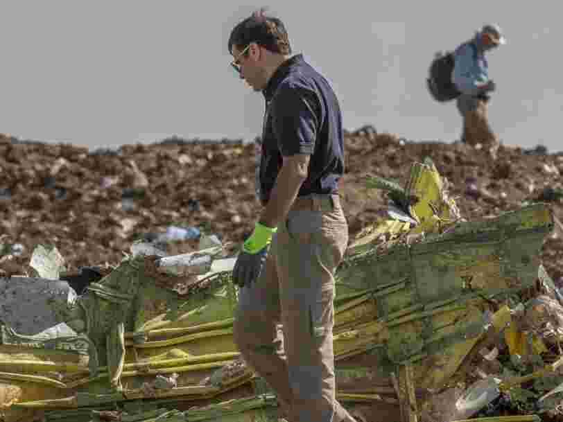 Boeing 737 Max d'Ethiopian : les pilotes avaient pourtant suivi les procédures de sécurité de Boeing