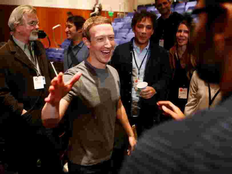 5 ans après son introduction en Bourse, Facebook gagne 4 fois plus par internaute aux Etats-Unis