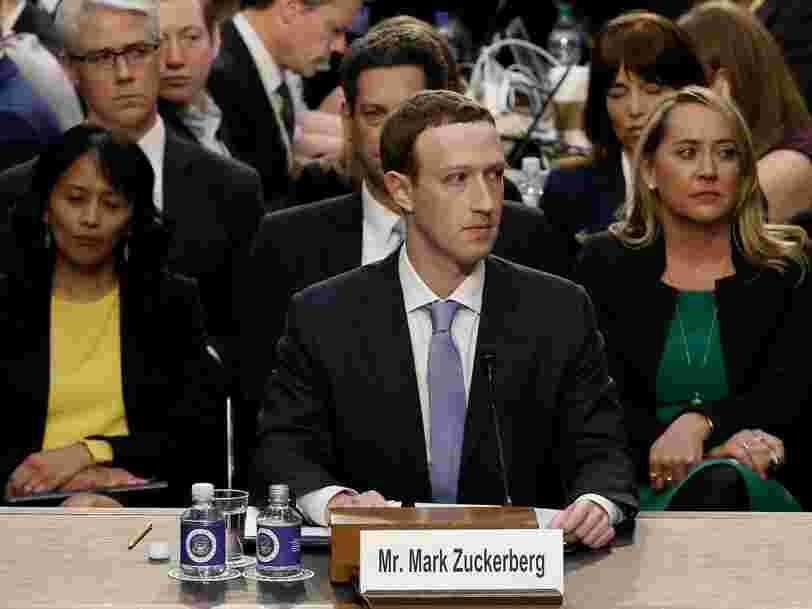 Mark Zuckerberg aurait été au courant de certaines pratiques problématiques de Facebook sur les données personnelles