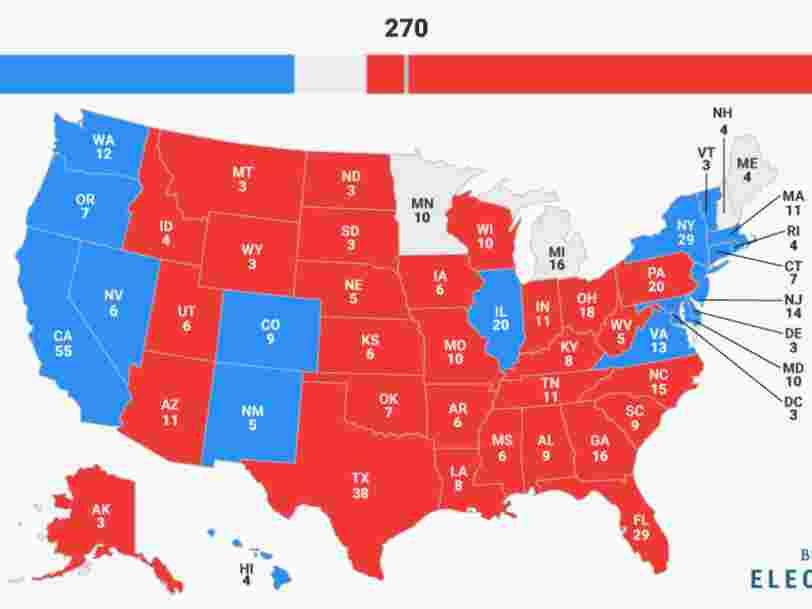 Présidentielle américaine: Donald Trump s'offre la Maison Blanche