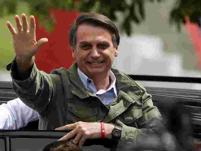 Le candidat d'extrême droite Jair Bolsonaro remporte la présidentielle au Brésil