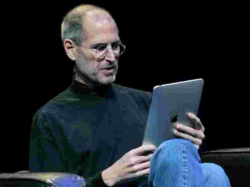 L'iPhone a été créé parce que Steve Jobs n'aimait pas un employé de Microsoft