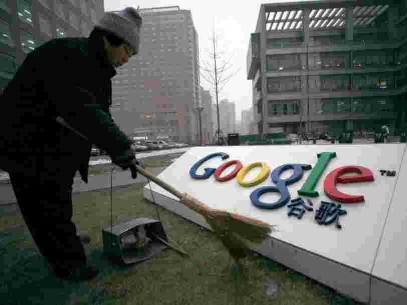 Une société rachetée par Google en 2008 pourrait être la clé de son retour en Chine