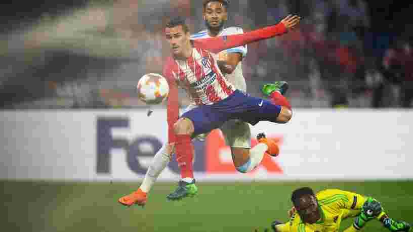 Antoine Griezmann a célébré son but avec une danse tirée de Fortnite lors de la victoire de l'Atletico face à Marseille