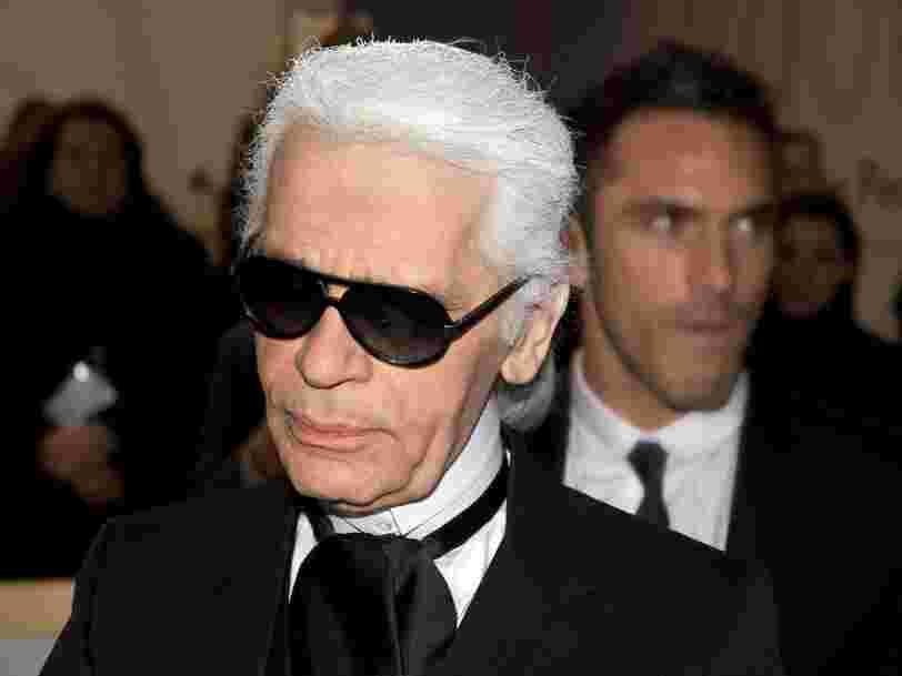 Karl Lagerfeld est mort à l'âge de 85 ans. Retour en 19 photos sur la carrière de l'un des plus célèbres couturiers de la planète