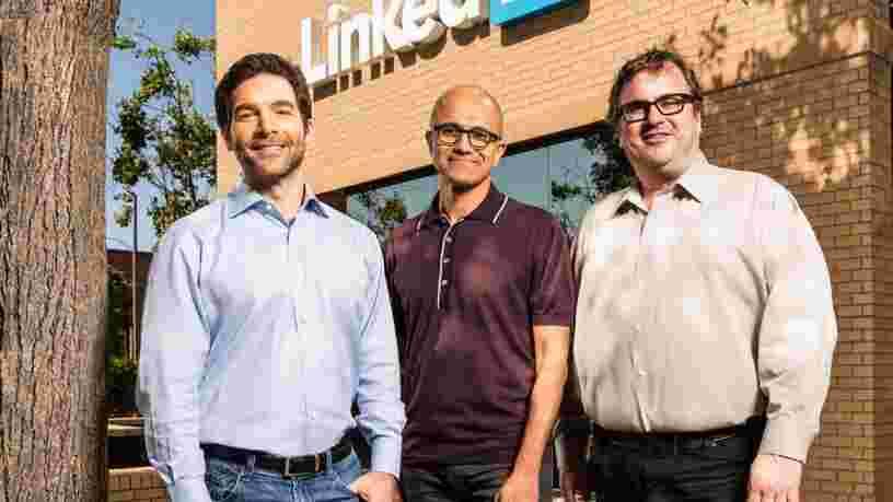 Le fondateur de LinkedIn Reid Hoffman intègre le conseil d'administration de Microsoft