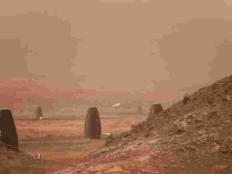 Voici l'habitat qui a gagné le concours de la NASA, il pourra être imprimé en 3D sur Mars