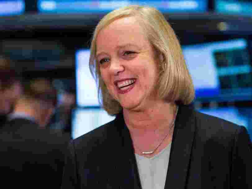 Meg Whitman, une des dirigeantes les plus connues de la Silicon Valley, quitte son poste de DG de Hewlett Packard Enterprise
