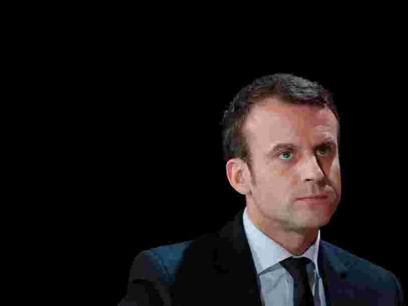 Un proche d'Emmanuel Macron pense que la Russie a lancé une campagne de déstabilisation contre le candidat à la présidentielle
