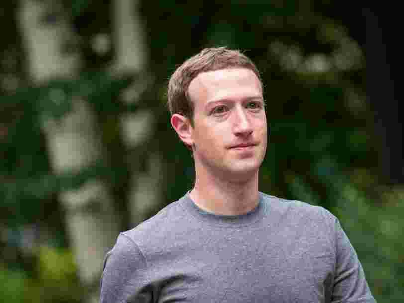 Facebook rejette un rapport écrit par un camarade de Mark Zuckerberg à Harvard qui affirme que la moitié des utilisateurs du réseau social sont des faux