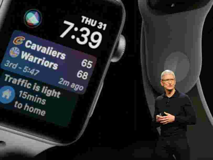 Voici tout ce qu'Apple vient d'annoncer lors de sa plus importante conférence de l'année