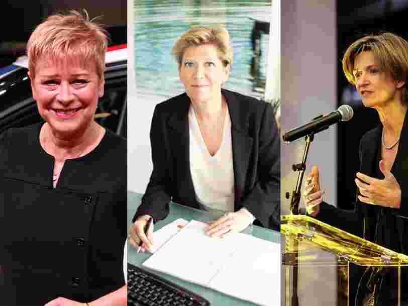 Les femmes qui pèsent le plus dans l'économie française