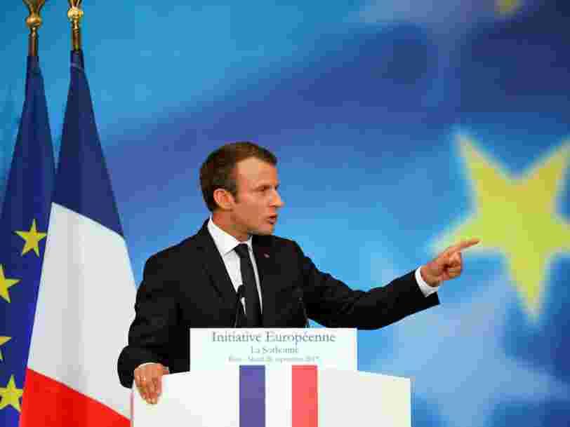 Emmanuel Macron vient de parler d'Europe — voici 10 de ses propositions sur l'économie et le numérique