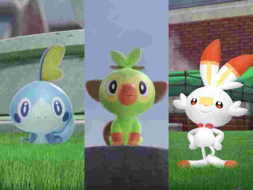 Nintendo vient d'annoncer une nouvelle génération de 'Pokémon' sur Switch. Découvrez 'Pokémon Epée' et 'Bouclier'.
