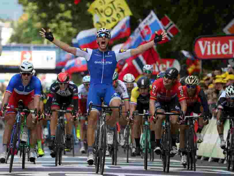 Une star allemande entre dans l'histoire du Tour de France grâce à la technologie