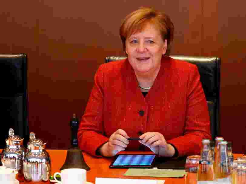 Des données personnelles d'Angela Merkel ont été publiées sur Internet après une possible cyberattaque