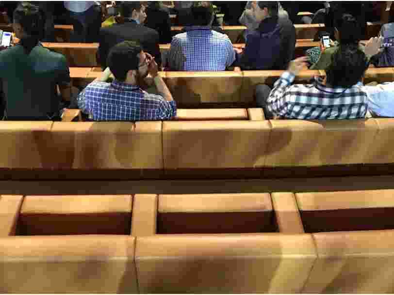 On sait désormais qui fabrique les sièges à 14.000$ du nouveau campus Apple