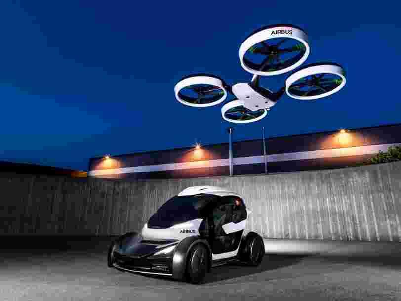 Le fonds de capital-risque d'Airbus vient d'investir dans un outil de gestion de flottes autonomes — et c'est un pas de plus vers la voiture volante