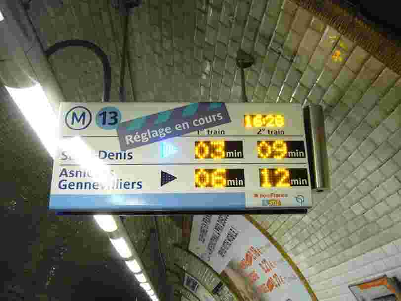 Les 10 lignes de métro ou train les plus bondées du monde, selon Google Maps