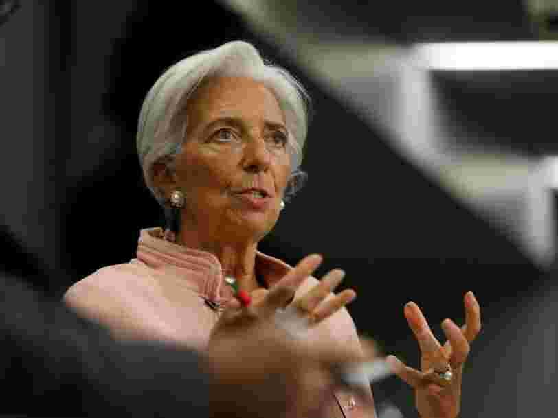 Christine Lagarde résume très simplement le choix qui se pose aux électeurs français lors de la présidentielle