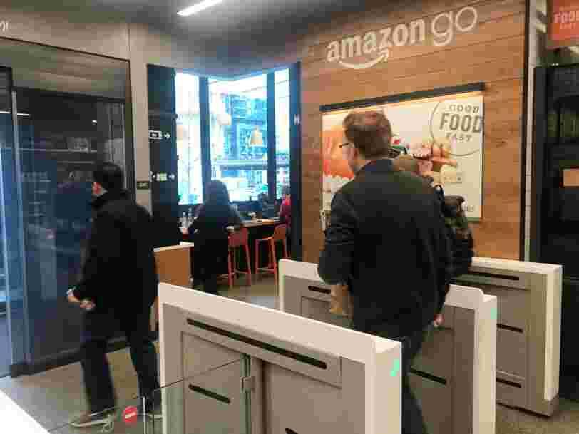 Amazon ouvre son magasin du futur complètement automatisé ce lundi
