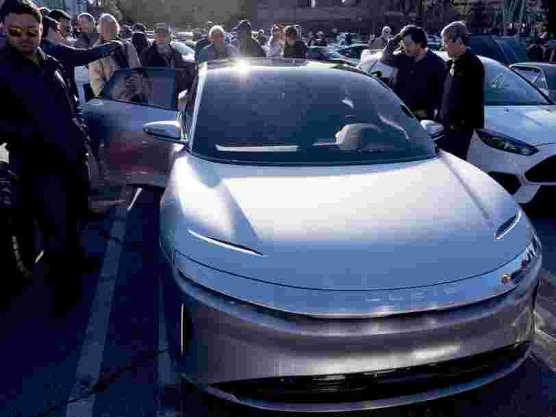 L'Arabie saoudite discuterait pour investir 1 Md$ dans un constructeur automobile électrique — et ce n'est pas Tesla