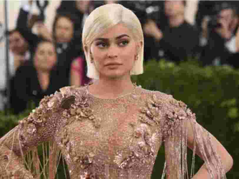 Kylie Jenner vient d'annoncer la mort de Snapchat