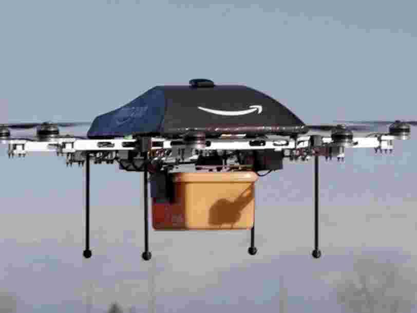La Poste livre déjà des colis par drone en France — Amazon contre-attaque en ouvrant un laboratoire près de Paris