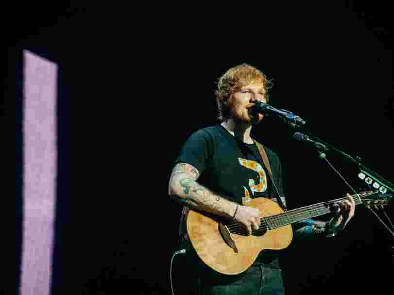 Ed Sheeran, U2, Madonna... Le classement des tournées les plus rentables de l'histoire