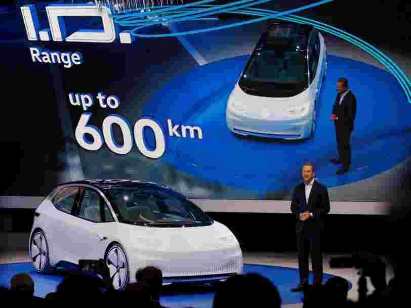 Volkswagen lancera un service de voitures avec chauffeur en 2017 pour concurrencer Uber