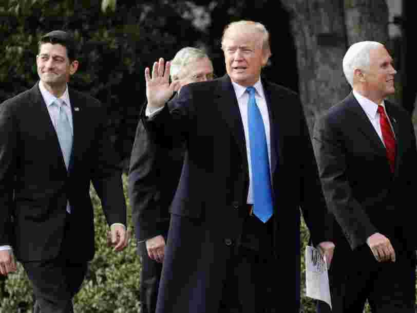 Les Etats-Unis passent la plus importante réforme fiscale depuis des décennies — voici à qui elle profite
